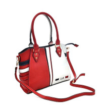 Contrast Colour Shoulder Bag