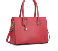 Large Tote Bag with Lock Decoration (HB21)