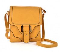 Shoulder Bag with Metal Detail (HB20)