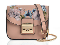 Cross Body Embroidery Bag (HB18)