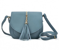 Cross Body Bag with Tassle Trim