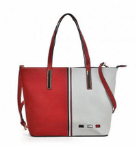Vertical Contrasting Colours Handbag (HB6)