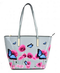 Floral and Butterfly Pattern Bag