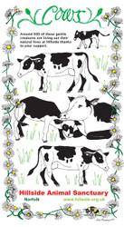 Quality. Hillside Animal Sanctuary 2019 Pocket Dairy Blue Maroon Black