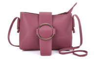 Cross Body Bag with Buckle (HB63)