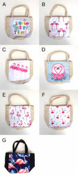 Flamingo Mini Tote Bags (Various Designs) (HB66)