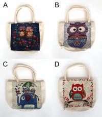 Owl Mini Tote Bags (HB68)