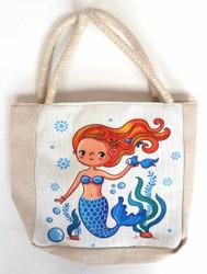Mermaid Mini Tote Bag (HB69)