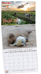 2020 Hillside Norfolk Countryside and Wildlife Calendar