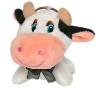 Soft Toy Animal Keyring