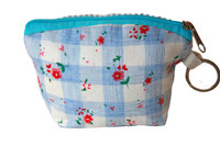 Floral Cloth Coin Purse