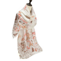 Pretty Butterfly Design Scarf (S10)