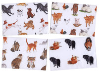 Animal Design Deluxe Hillside Wrapping Paper (4 Designs)