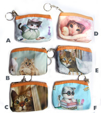 Cat Design Coin Purse