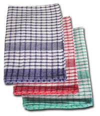 Check Kitchen Tea Towel 100% Cotton