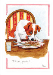 Amusing Dog Cartoon Cards