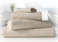Organic Towels in Natural Unbleached Cotton