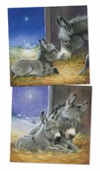 Christmas Donkey Cards