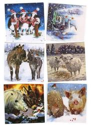 Hillside 'Winter Wonderland' Christmas Cards