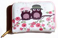 Zip-a-round Owl Purse