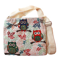 Tapestry Design Crossbody Bag