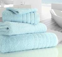 Luxury Towels in Duck Egg Blue