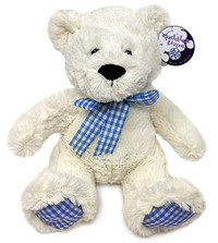 Gingham Teddy Bear