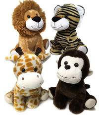Jungle Animal Soft Toys