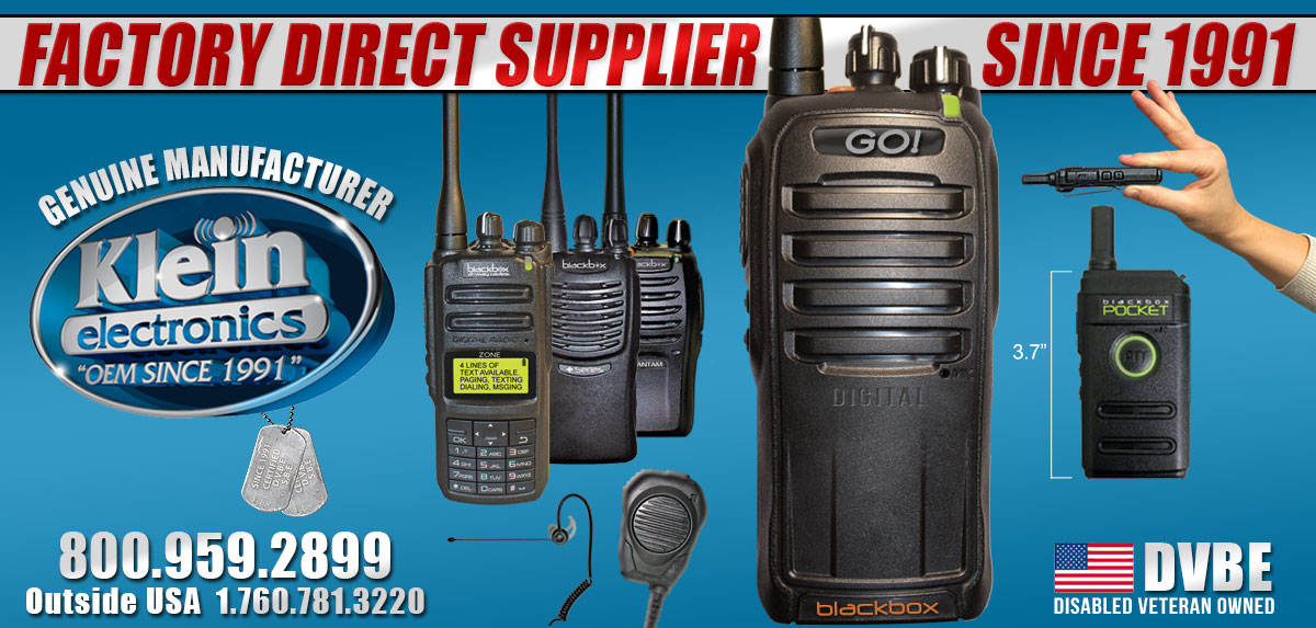 Blackbox Two Way Radio Gear