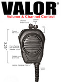 Valor® CSM RSM w/Channel & Volume for Sonim XP5s & XP8