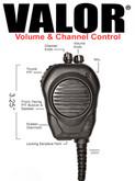 Valor® CSM RSM w/Channel & Volume for Sonim XP5s & XP8
