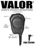 VALOR® M8 (amplified) for Motorola TLK100 Radios