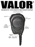 VALOR. Speaker / Microphone for Microsoft Teams Walkie Talkie