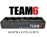 TEAM6 - Six Unit Multi-Charger (pods not included)