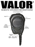 Valor® Speaker / Microphone for KYOCERA