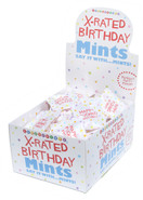 X-Rated Birthday Mints Display Carton