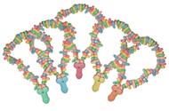 Super Fun Penis Candy Necklace Pack of 5