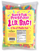 Super Fun Penis Candy One-Pound Bag (assorted colors only)