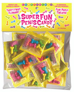 Super Fun Penis Candy, Bag Of 25