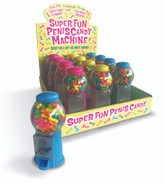 Super Fun Penis Candy Machines, Display