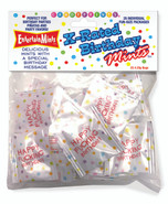 X-Rated Birthday Mints, Bag of 25