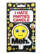 A fun candle for the kill joy in your life!
