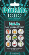Everyone is a winner with the Drink Me Lotto is scratch-off tickets by Little Genie. Great icebreaker for birthday parties, house parties or mixers. Scratch away your inhibitions and get the party Started!