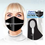Super Naughty Zipper Mouth Mask