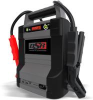Schumacher DSR128 2000 Peak Amp 12V Lithium Ion ProSeries Jump Starter with USB Portable Power Port
