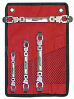 Metric Ratcheting Flex Head Line Wrench Set SRR-LW700