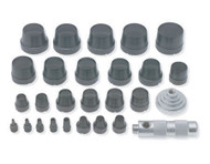 "27pc Gasket Punch Set 1/2 to 2"" URR49902"