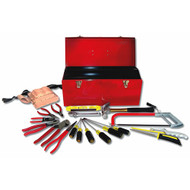 ELECTRICIAN BASIC SET WITH TOOL BOX  23 PC 90732