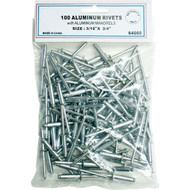 "All Aluminum Rivets - 3/16"" x 3/4"" 64060"