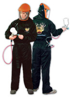 Carbon Fiber Anti-Static Spray Suit PS115B